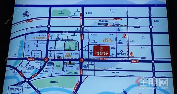住朋-荣顾·书香门第交通图