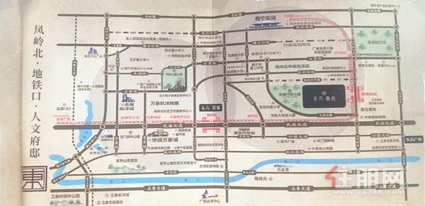 东方尊府区位图
