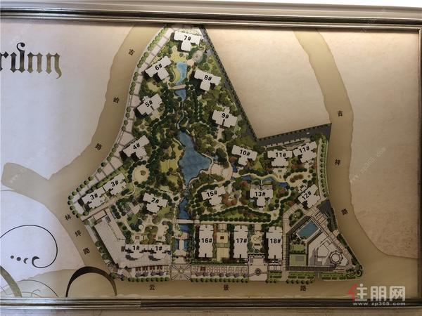 美泉1612楼栋分布图