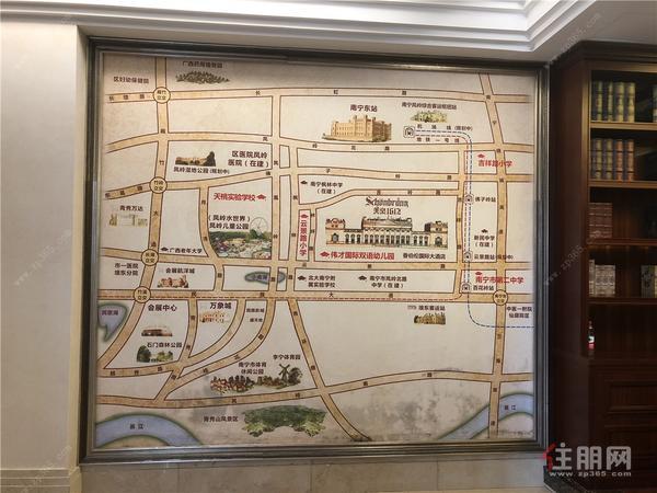 美泉1612区位图