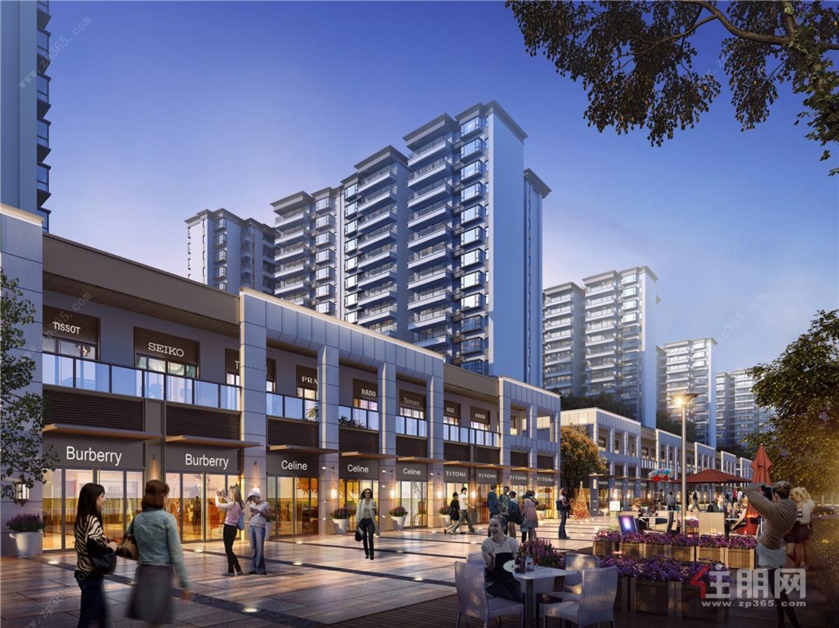 悦桂绿地新世界街区