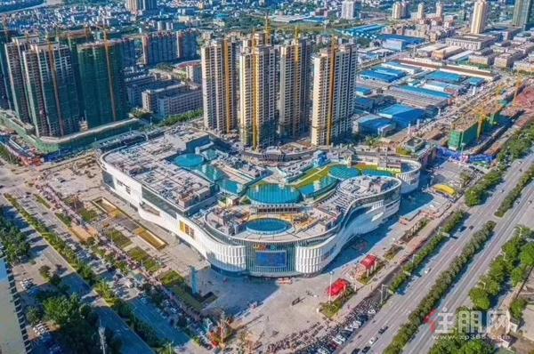 吾悦广场实景图