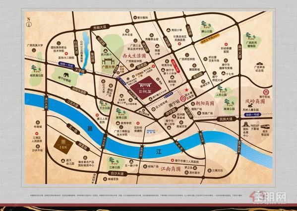 建发 鼎华·北大珑廷区位图