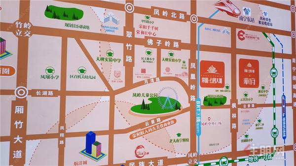 荣和·公园大道区位图