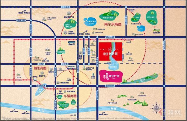 碧桂园时代城区位图
