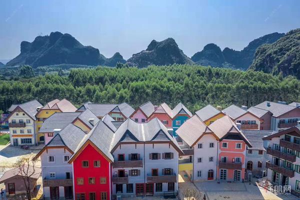 江宇梦想小镇实景图