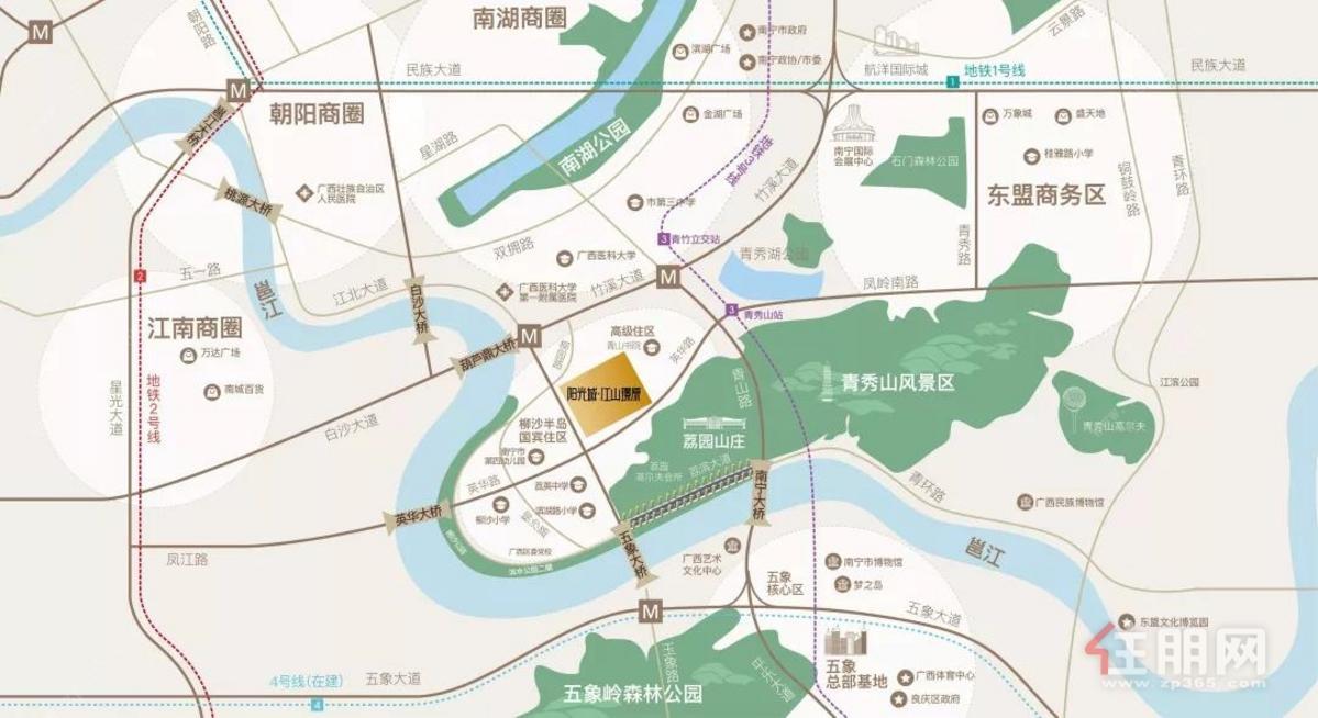 阳光城·江山璟原区位图