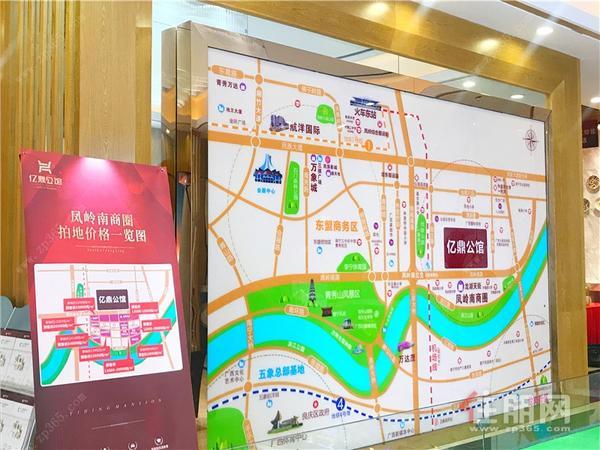 亿鼎公馆项目区位图