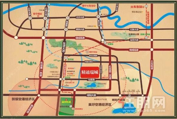 精通瑞城区位图