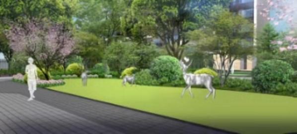 龍光陽光河畔園林效果圖