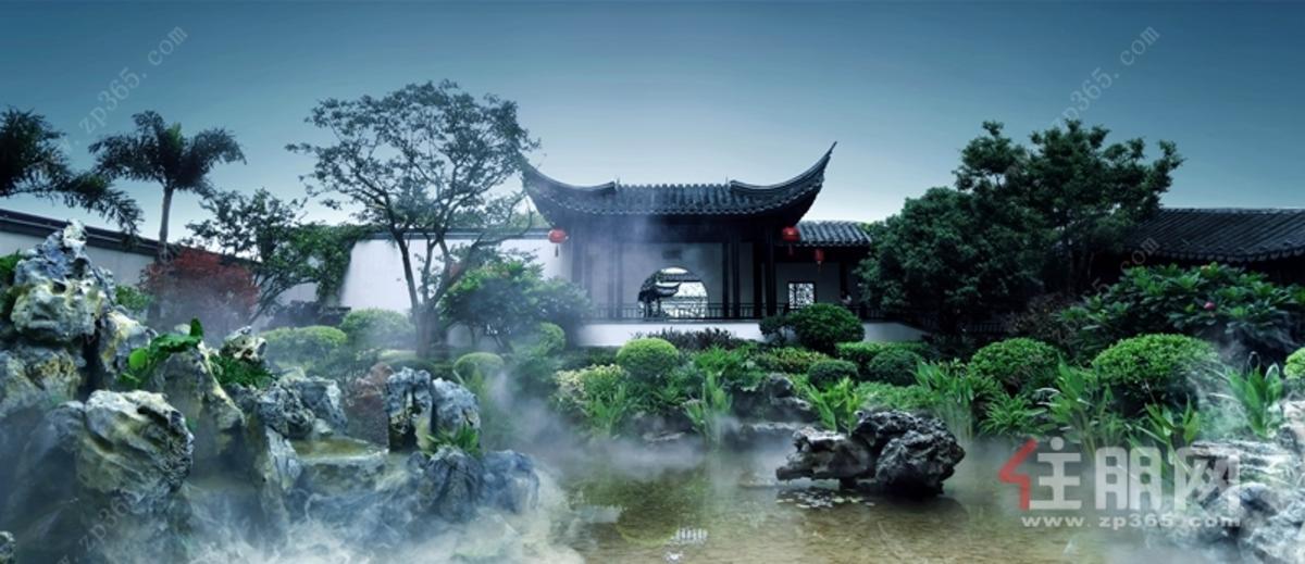 苏式园林实景图