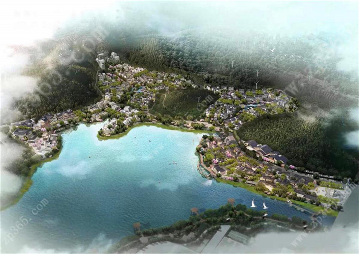 项目住宅区雅舍鸟瞰图