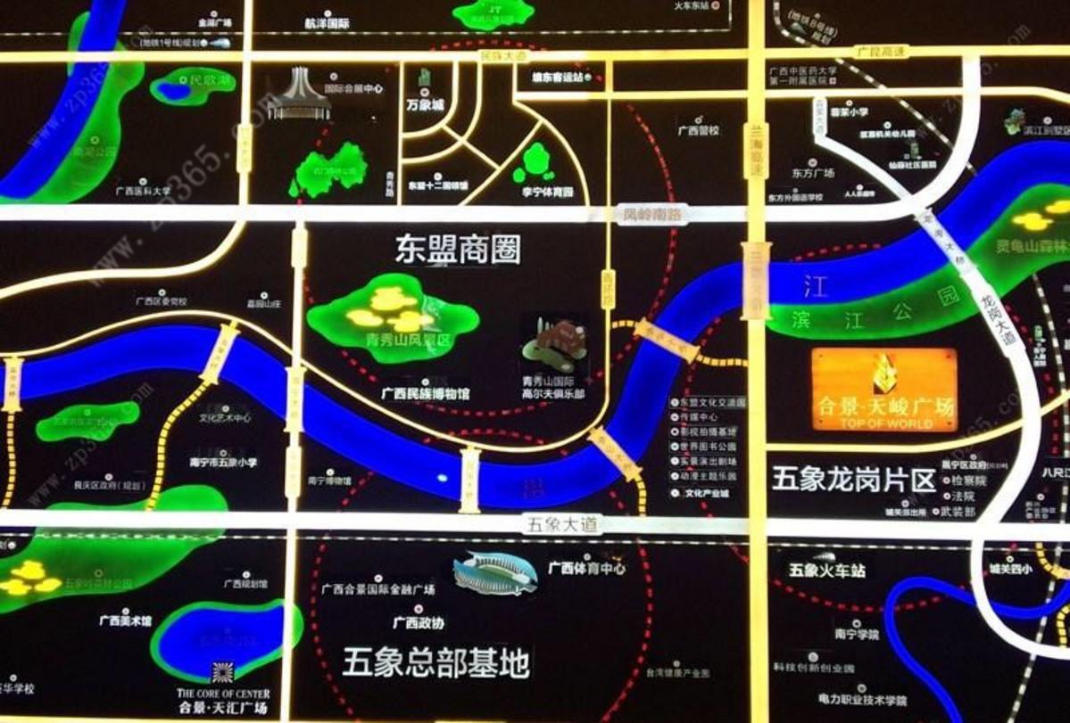合景·天峻广场区位图