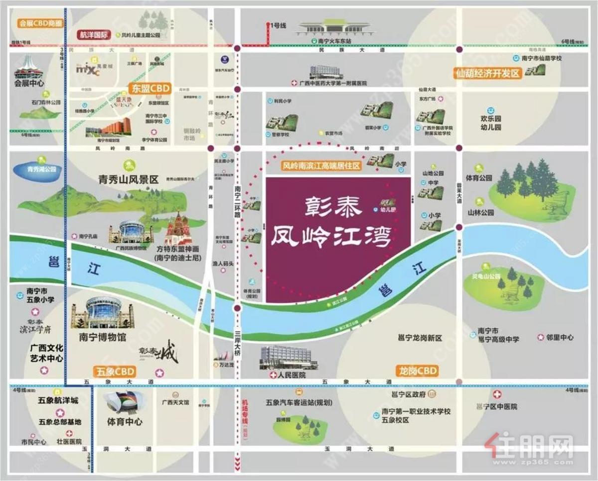 彰泰·凤岭江湾区位图
