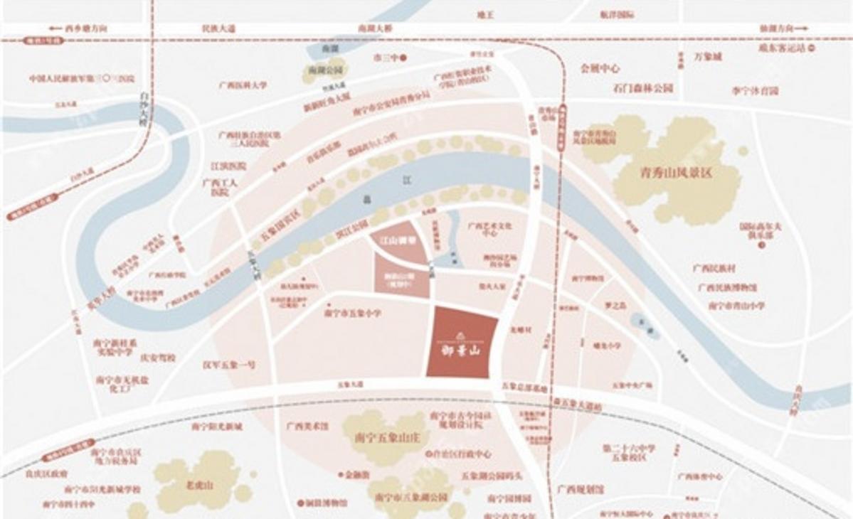 江山御景2期区位图