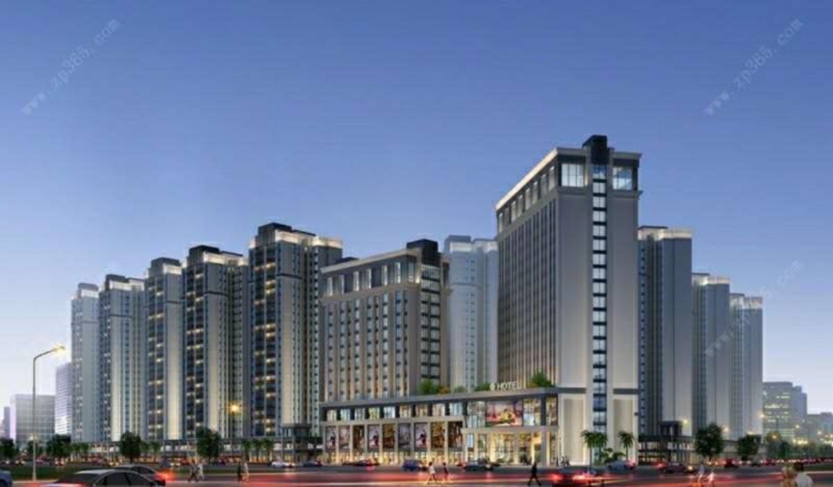 酒店、公寓效果图