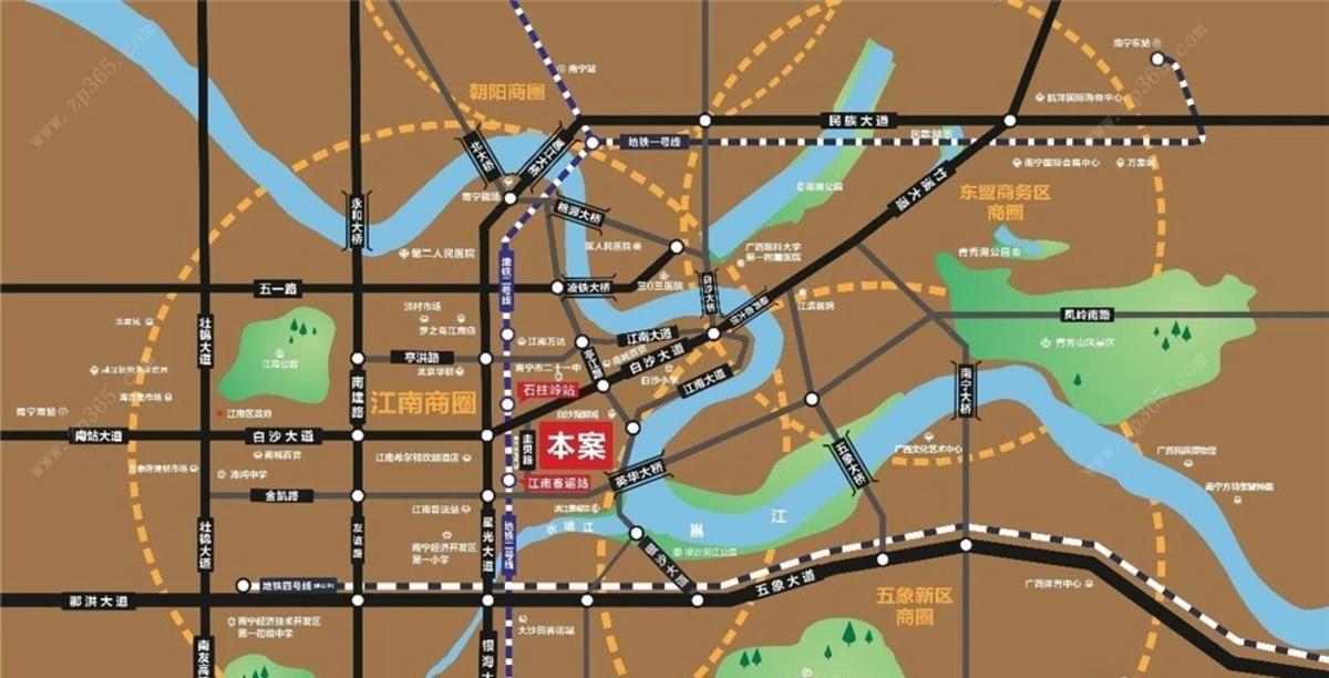 广汇名都区位图