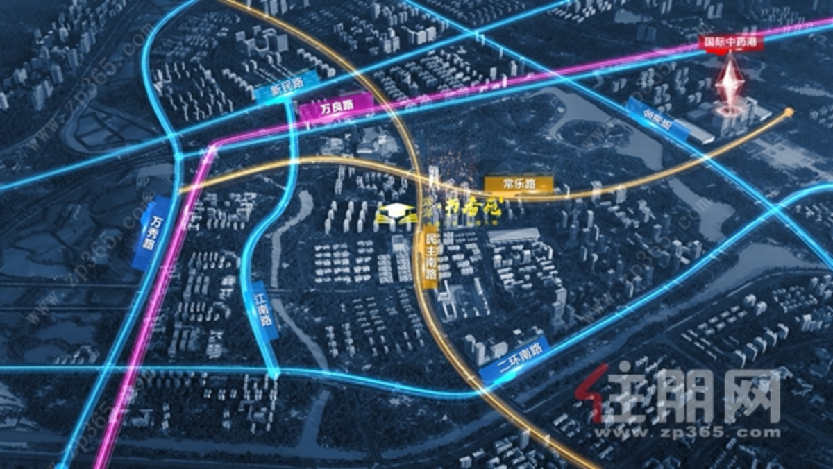 书香苑交通图