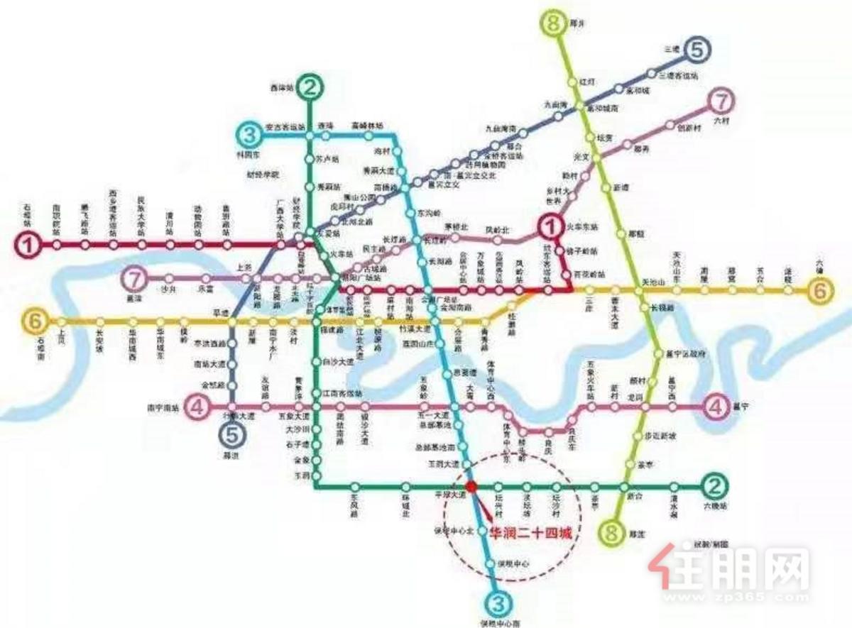 華潤24城鉑寓區位圖