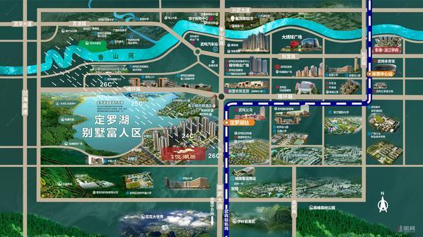 悦湖居区位图