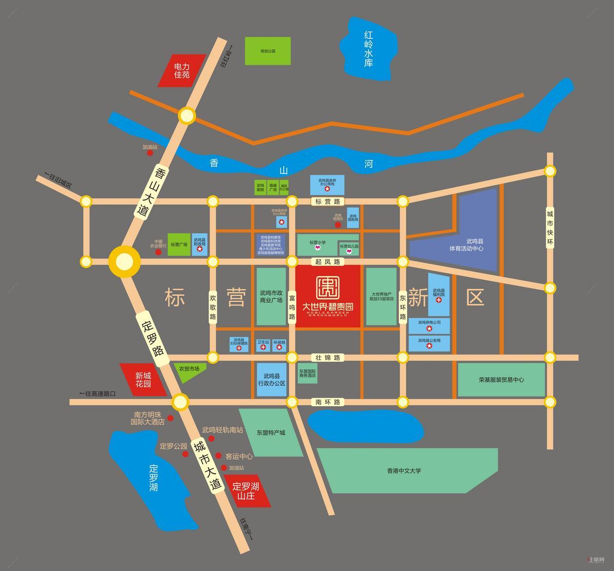 碧贵园区域图