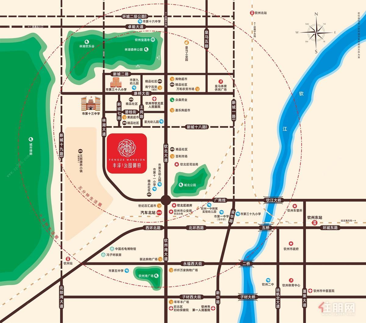 项目交通图