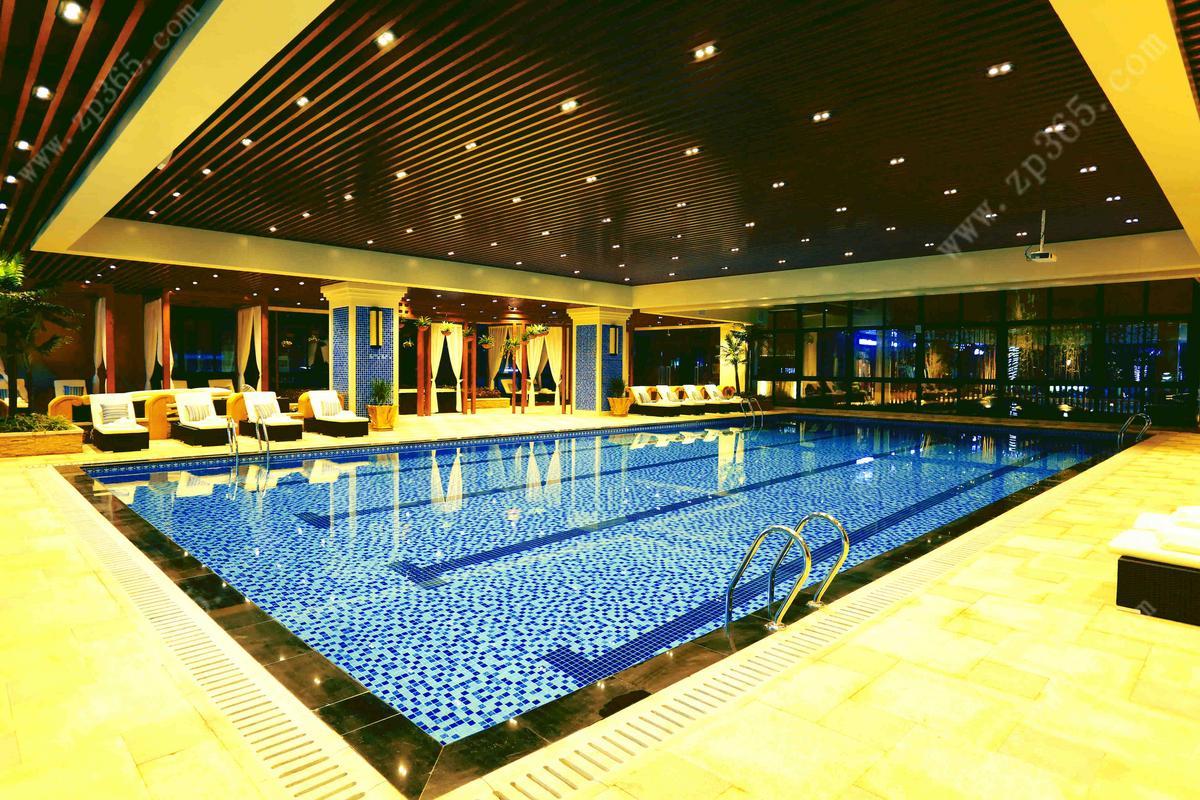 恒溫泳池實景圖