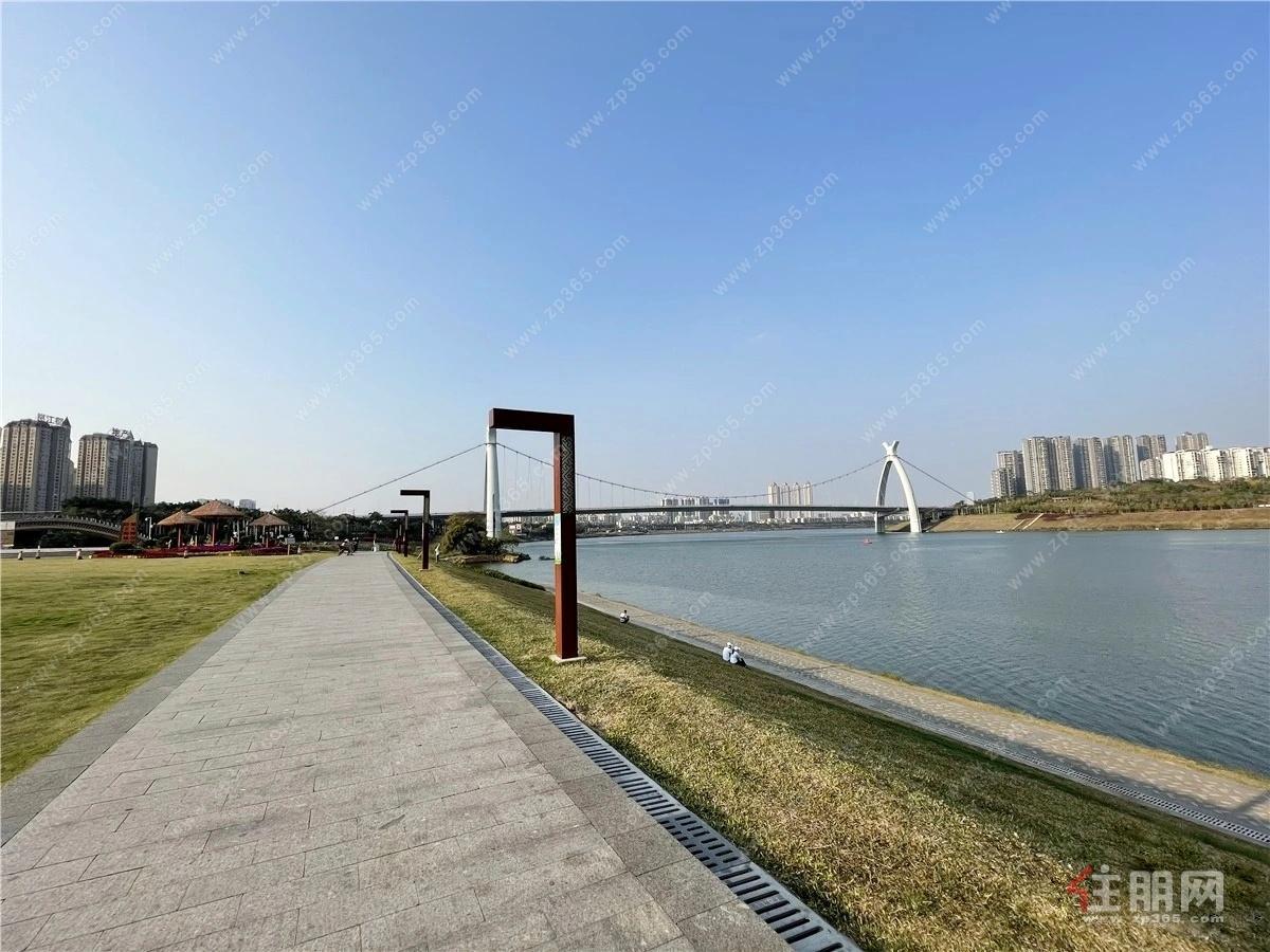 邕江南岸滨江公园实景