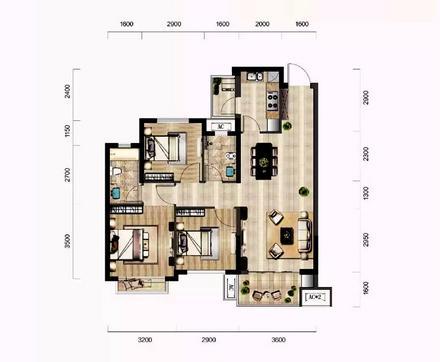 三房两房两厅