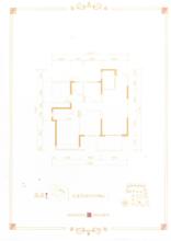 A1户型三室两厅两卫(仅供参考效果图)
