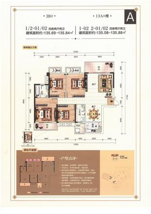 A戶型|4室2廳2衛1廚3陽臺