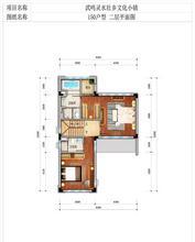150户型二层平面图