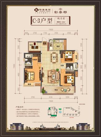 彰泰郡-户型-C3