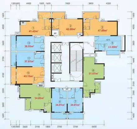 錢巢公寓34-51㎡