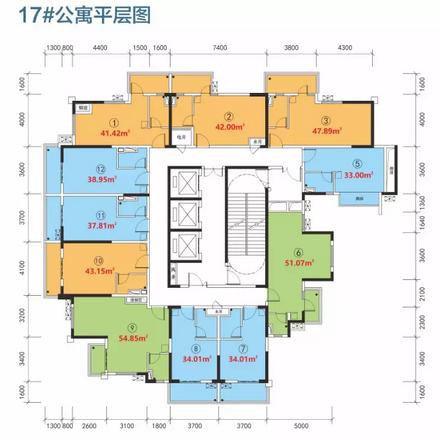 17#公寓總平圖