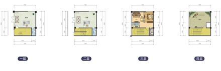 D户型217.64平米,3层,2层商铺1
