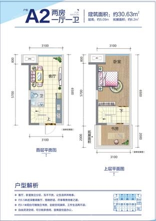 5#公寓A2戶型