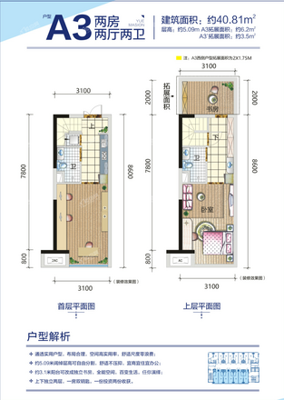 5#公寓A3户型