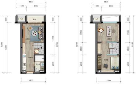 公寓35㎡