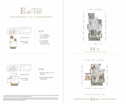 E4戶型142㎡