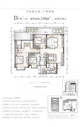 D户型116㎡(6F)