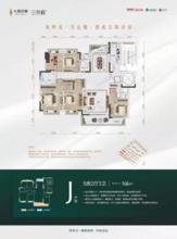 洋房J户型165/166㎡