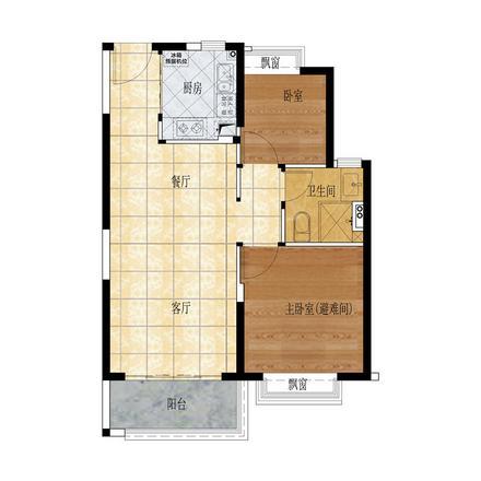 84㎡ 两房两厅一卫.jpg