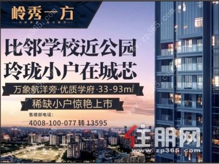 凤岭北 大嘉汇·岭秀一方   34--143㎡   周一到周日有车接送