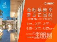 广西大学地铁口 洋浦星:距地铁口仅100米,毛坯90-143㎡新品咨询中!!看房有现金红包!