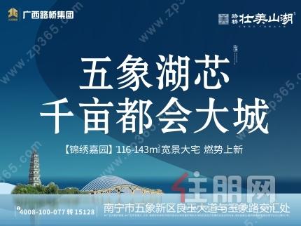 2021年4月9日五象新区看房团:路桥壮美山湖