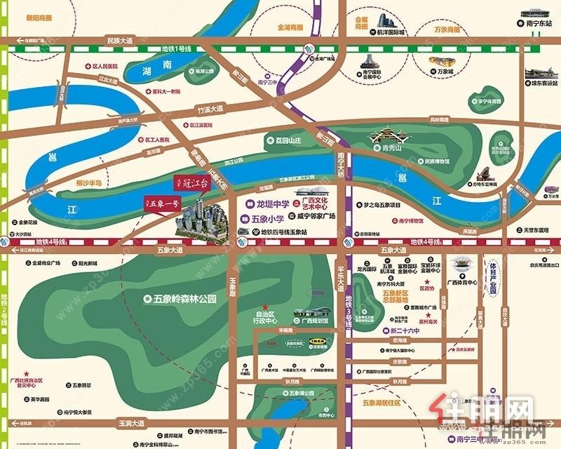 国庆节10月2日看房团安排:汉军冠江台,自行/专车接送