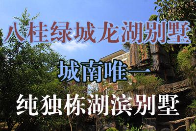 八桂绿城龙湖别墅――城南唯一纯独栋湖滨别墅