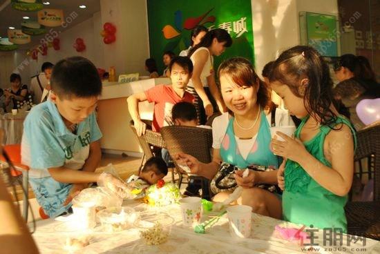 天禾春城六一儿童节diy蛋糕秀主题活动欢乐举行|楼盘