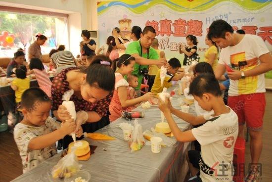 天禾春城六一儿童节diy蛋糕秀主题活动欢乐举行|楼
